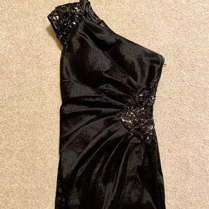 Black Jessica McClintock dress